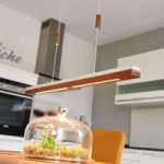 Minimalistisk LED-hængelampe Elna – 78 cm lang