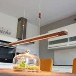 Minimalistisk LED-hængelampe Elna – 118 cm lang