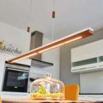 Minimalistisk LED-hængelampe Elna – 158 cm lang