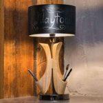Bordlampen Brava Lampada som kan skrives på