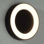 LED-udendørsvæglampe Teton af metal – IP54