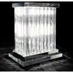 Strålende bordlampe i krystal Dorico