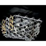 Loftlampe Quadrus i Murano-glas