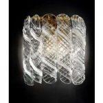 Klassisk og skøn væglampe Molle, 24 K forgyldt