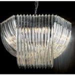 Flot krystalhængelampe Woolball 85 cm i diameter