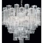 Tronchi – hængelampe af klart Murano-glas