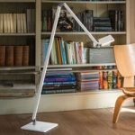 Nimbus Roxxane Home LED-læselampe, hvid blank