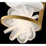 Nimbus Rim R 36 LED-loftlampe, guld mat