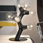 next DNA Table – designer-bordlampe, sort