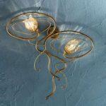 Nobel MONIQUE væglampe med to lys