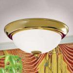 EMPIRE loftlampe forgyldt Ø 35 cm