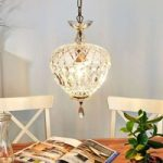 Hyggelig ANDARA krystal pendellampe Ø 25 cm