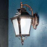 Nostalgisk udendørs VIVIANA væglampe