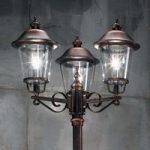 Mariella lampemast, 3 lyskilder