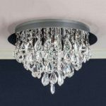 HELENE loftlampe med blykrystaller 45 cm