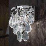 Elegant HELENE væglampe med blykrystaller