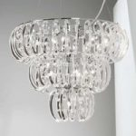Glashængelampe Farina