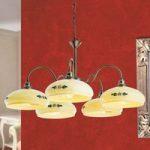 Hængelampen Vivianne i landhusstil