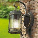 Rustik udendørsvæglampe Lenard