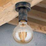Enkel vintage loftslampe Rati