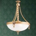 Traditionel hængelampe Noam, 34 cm