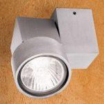 Halogenspot Zarina af aluminium med en lyskilde