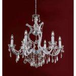 Maria Theresia – luksuriøs krystallysekrone