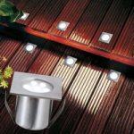 Firkantet PROFI MINI LED jordspot som basissæt