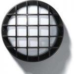 EKO 21/G udendørs væg- eller loftlampe i sort