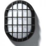 EKO 19/G udendørs væg- eller loftlampe i sort