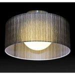 GANZO eksklusiv loftslampe, Ø 90 cm, brun
