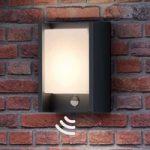Med bevægelsessensor – LED-udendørsvæglampe Arbour