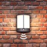 Stock – LED-udendørsvæglampe med sensor