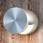 Cylindrisk formet LED-udendørsvæglampe Squirrel