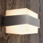 Udendørs væglampe Shovel i rustfrit stål myGarden