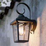Buzzard myGarden – sort udendørs væglampe