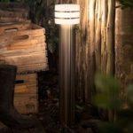 Philips Hue LED gadelampe Tuar i rustfrit stål