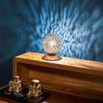 Greta – en bordlampe med kugleskærm