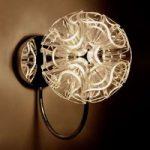 Coral – kugleformet LED-væglampe