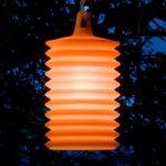 Flot LAMPION pendellampe til udendørs brug, orange