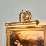 ELIGIO smukt udsmykket billedlampe 55 cm