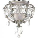 Trina – elegant krystal-loftlampe