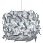 Pendellampe Nest dekoreret med sarte blade