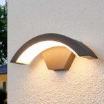 Buet LED-udendørsvæglampe Jule