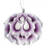 Kreativ pendellampe Flora S, lilla