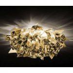 Fantasifuld formgivet loftslampe Veli Mini, guld