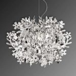 Fiorella – designer pendellampe i sølv