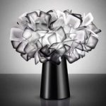 Sort designer bordlampe Clizia