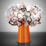 Clizia – designerbordlampe i orange