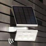 Effektiv solcelle LED-udendørsvægl. XSolar L-S s